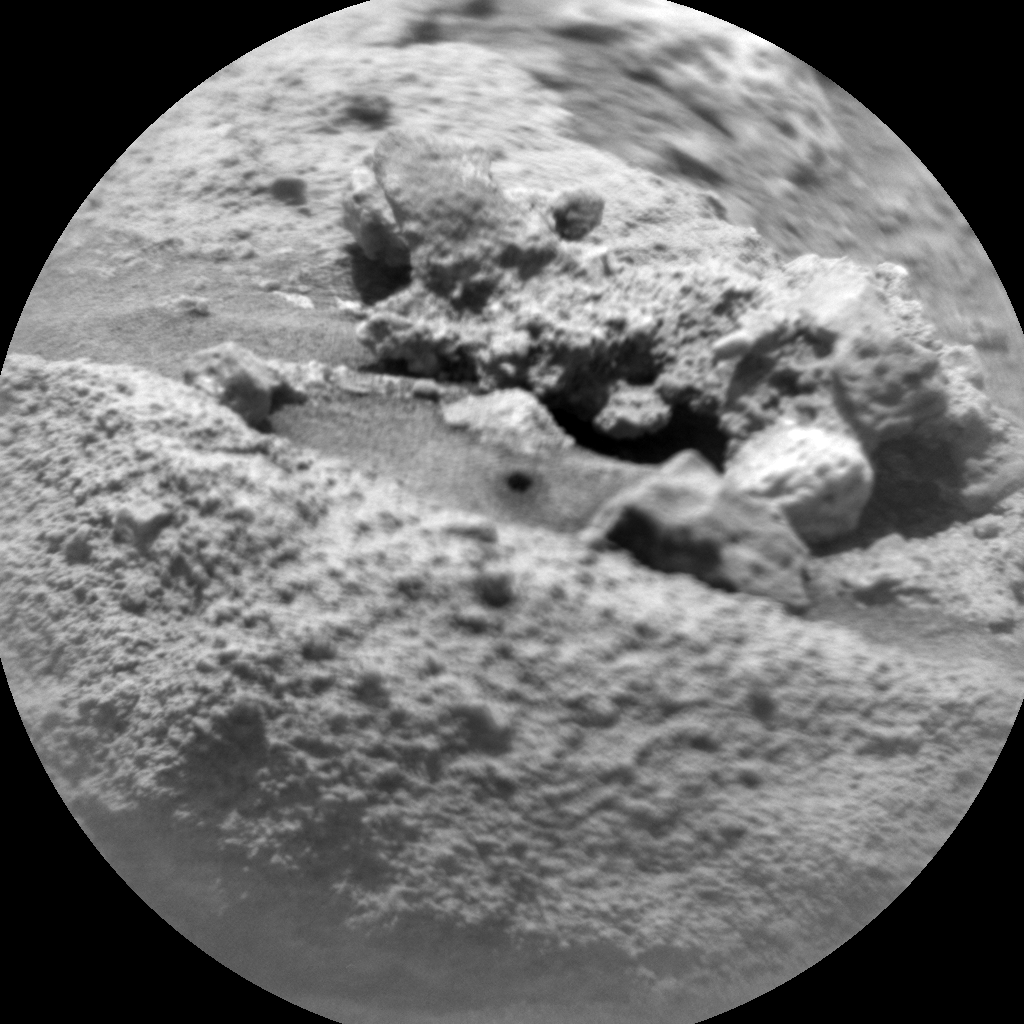 Nasa's Mars rover Curiosity acquired this image using its Chemistry & Camera (ChemCam) on Sol 744, at drive 1330, site number 41
