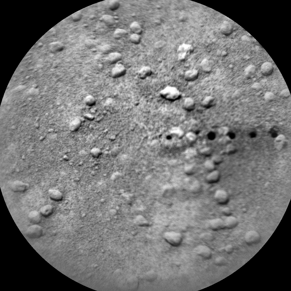 Nasa's Mars rover Curiosity acquired this image using its Chemistry & Camera (ChemCam) on Sol 745, at drive 1570, site number 41