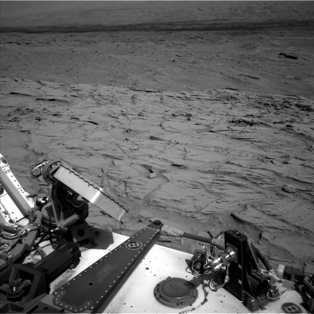 Nasa's Mars rover Curiosity acquired this image using its Left Navigation Camera on Sol 746, at drive 1642, site number 41