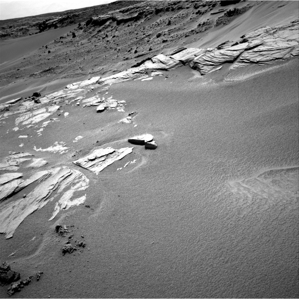 Nasa's Mars rover Curiosity acquired this image using its Right Navigation Camera on Sol 746, at drive 1588, site number 41