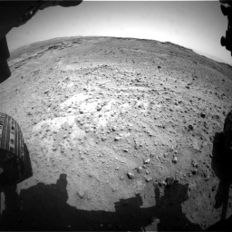 Nasa's Mars rover Curiosity acquired this image using its Front Hazard Avoidance Camera (Front Hazcam) on Sol 747, at drive 2098, site number 41