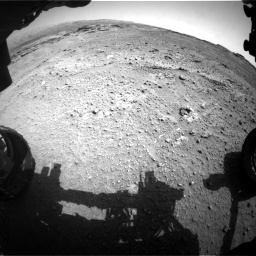Nasa's Mars rover Curiosity acquired this image using its Front Hazard Avoidance Camera (Front Hazcam) on Sol 747, at drive 2140, site number 41
