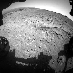 Nasa's Mars rover Curiosity acquired this image using its Front Hazard Avoidance Camera (Front Hazcam) on Sol 747, at drive 2152, site number 41