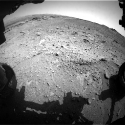 Nasa's Mars rover Curiosity acquired this image using its Front Hazard Avoidance Camera (Front Hazcam) on Sol 747, at drive 2158, site number 41