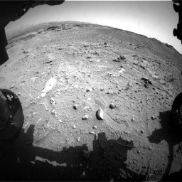 Nasa's Mars rover Curiosity acquired this image using its Front Hazard Avoidance Camera (Front Hazcam) on Sol 747, at drive 2170, site number 41