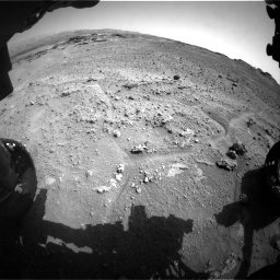 Nasa's Mars rover Curiosity acquired this image using its Front Hazard Avoidance Camera (Front Hazcam) on Sol 747, at drive 2188, site number 41