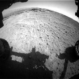 Nasa's Mars rover Curiosity acquired this image using its Front Hazard Avoidance Camera (Front Hazcam) on Sol 747, at drive 2236, site number 41
