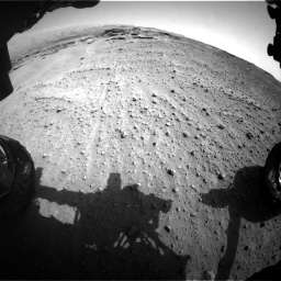 Nasa's Mars rover Curiosity acquired this image using its Front Hazard Avoidance Camera (Front Hazcam) on Sol 747, at drive 2242, site number 41