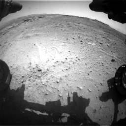 Nasa's Mars rover Curiosity acquired this image using its Front Hazard Avoidance Camera (Front Hazcam) on Sol 747, at drive 2104, site number 41