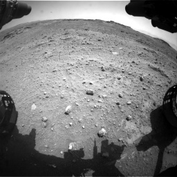 Nasa's Mars rover Curiosity acquired this image using its Front Hazard Avoidance Camera (Front Hazcam) on Sol 747, at drive 2116, site number 41