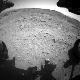 Nasa's Mars rover Curiosity acquired this image using its Front Hazard Avoidance Camera (Front Hazcam) on Sol 747, at drive 2122, site number 41
