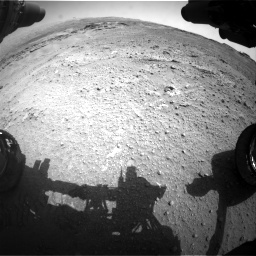 Nasa's Mars rover Curiosity acquired this image using its Front Hazard Avoidance Camera (Front Hazcam) on Sol 747, at drive 2134, site number 41