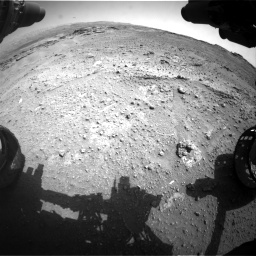 Nasa's Mars rover Curiosity acquired this image using its Front Hazard Avoidance Camera (Front Hazcam) on Sol 747, at drive 2146, site number 41