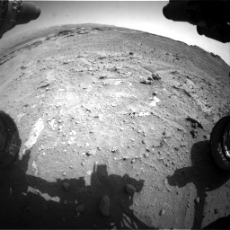 Nasa's Mars rover Curiosity acquired this image using its Front Hazard Avoidance Camera (Front Hazcam) on Sol 747, at drive 2176, site number 41