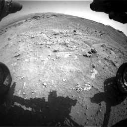Nasa's Mars rover Curiosity acquired this image using its Front Hazard Avoidance Camera (Front Hazcam) on Sol 747, at drive 2182, site number 41