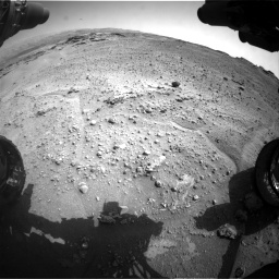 Nasa's Mars rover Curiosity acquired this image using its Front Hazard Avoidance Camera (Front Hazcam) on Sol 747, at drive 2194, site number 41