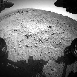 Nasa's Mars rover Curiosity acquired this image using its Front Hazard Avoidance Camera (Front Hazcam) on Sol 747, at drive 2200, site number 41