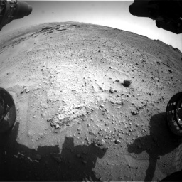 Nasa's Mars rover Curiosity acquired this image using its Front Hazard Avoidance Camera (Front Hazcam) on Sol 747, at drive 2206, site number 41