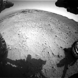Nasa's Mars rover Curiosity acquired this image using its Front Hazard Avoidance Camera (Front Hazcam) on Sol 747, at drive 2212, site number 41