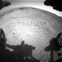 Nasa's Mars rover Curiosity acquired this image using its Front Hazard Avoidance Camera (Front Hazcam) on Sol 747, at drive 2218, site number 41