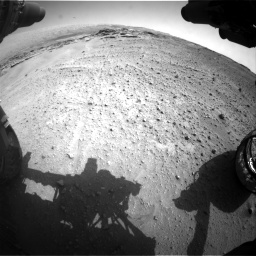 Nasa's Mars rover Curiosity acquired this image using its Front Hazard Avoidance Camera (Front Hazcam) on Sol 747, at drive 2224, site number 41