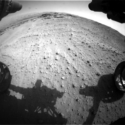 Nasa's Mars rover Curiosity acquired this image using its Front Hazard Avoidance Camera (Front Hazcam) on Sol 747, at drive 2248, site number 41