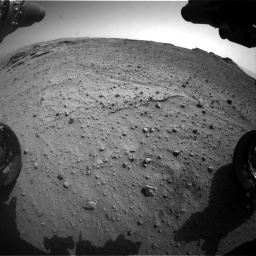 Nasa's Mars rover Curiosity acquired this image using its Front Hazard Avoidance Camera (Front Hazcam) on Sol 747, at drive 2260, site number 41