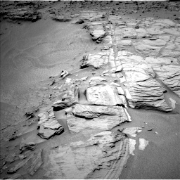 Nasa's Mars rover Curiosity acquired this image using its Left Navigation Camera on Sol 747, at drive 1654, site number 41