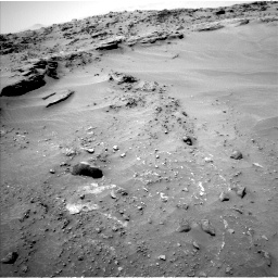 Nasa's Mars rover Curiosity acquired this image using its Left Navigation Camera on Sol 747, at drive 1726, site number 41