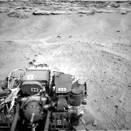 Nasa's Mars rover Curiosity acquired this image using its Left Navigation Camera on Sol 747, at drive 2200, site number 41
