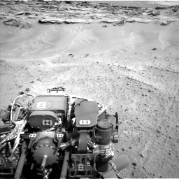 Nasa's Mars rover Curiosity acquired this image using its Left Navigation Camera on Sol 747, at drive 2206, site number 41