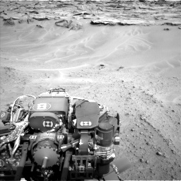 Nasa's Mars rover Curiosity acquired this image using its Left Navigation Camera on Sol 747, at drive 2236, site number 41
