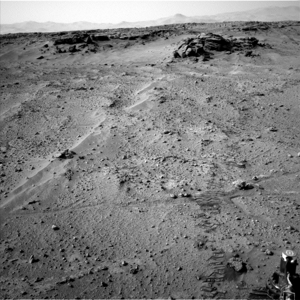 Nasa's Mars rover Curiosity acquired this image using its Left Navigation Camera on Sol 747, at drive 0, site number 42