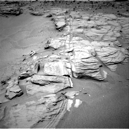 Nasa's Mars rover Curiosity acquired this image using its Right Navigation Camera on Sol 747, at drive 1654, site number 41