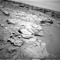 Nasa's Mars rover Curiosity acquired this image using its Right Navigation Camera on Sol 747, at drive 1666, site number 41