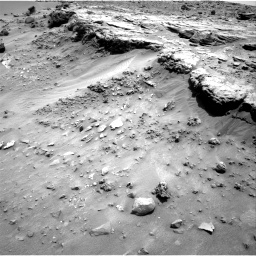 Nasa's Mars rover Curiosity acquired this image using its Right Navigation Camera on Sol 747, at drive 1738, site number 41