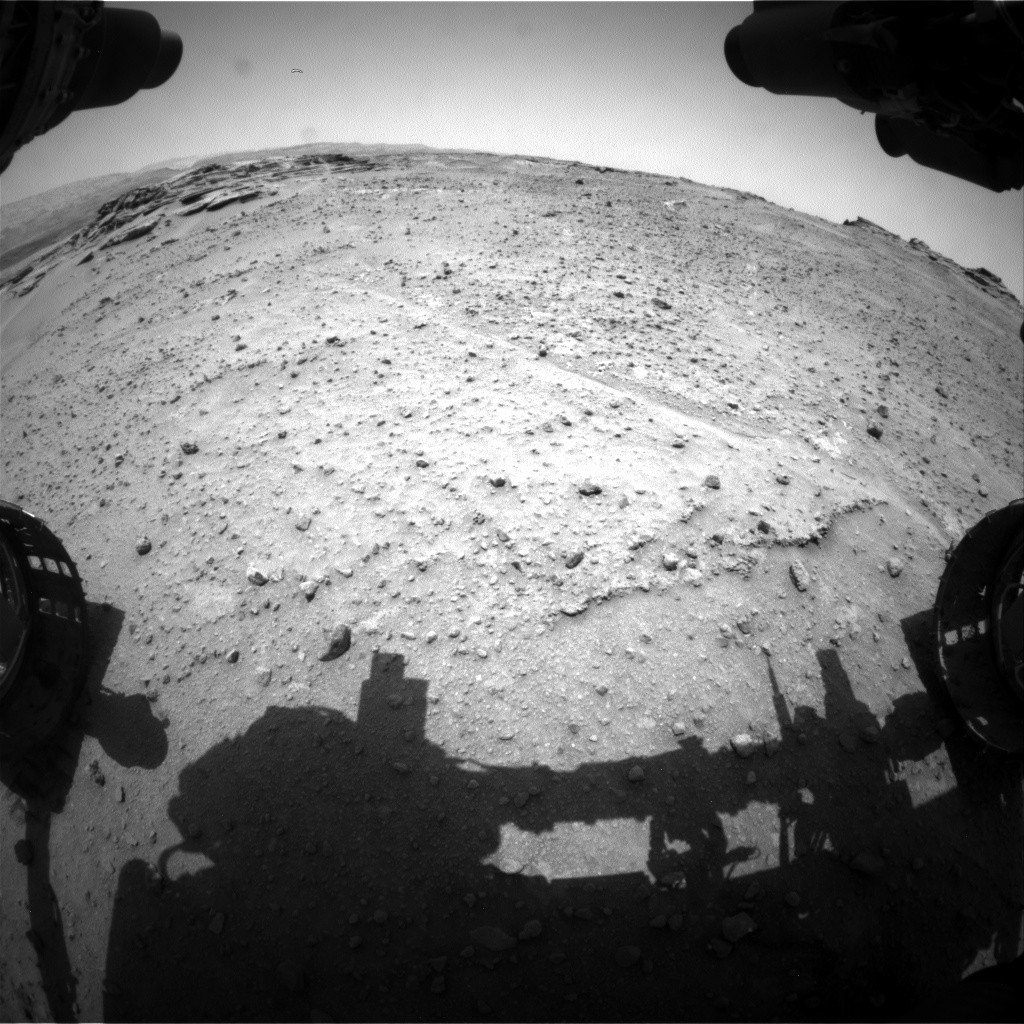 Nasa's Mars rover Curiosity acquired this image using its Front Hazard Avoidance Camera (Front Hazcam) on Sol 748, at drive 0, site number 42