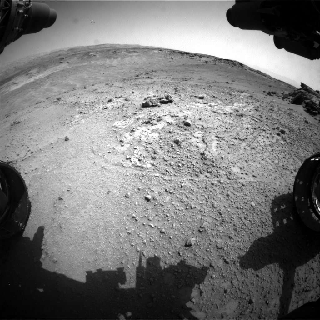 Nasa's Mars rover Curiosity acquired this image using its Front Hazard Avoidance Camera (Front Hazcam) on Sol 748, at drive 186, site number 42