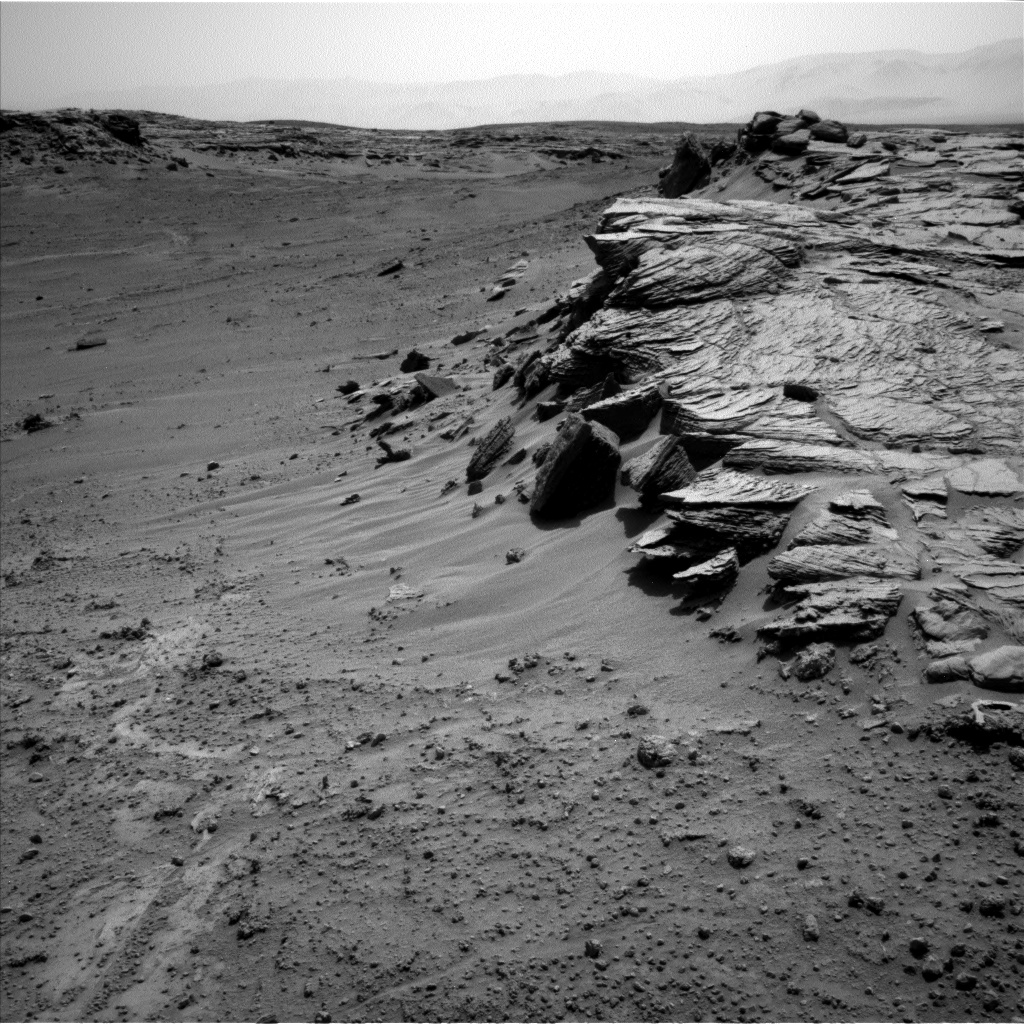 Nasa's Mars rover Curiosity acquired this image using its Left Navigation Camera on Sol 748, at drive 186, site number 42