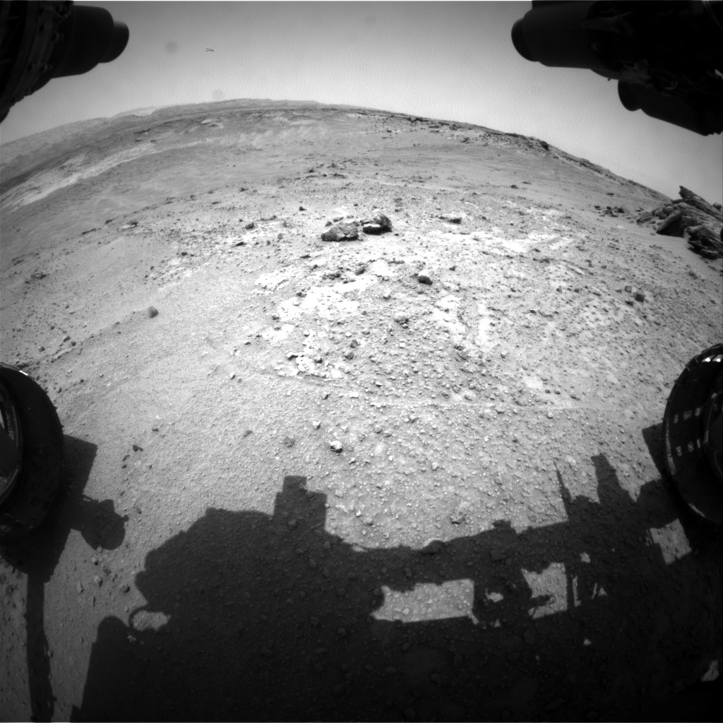 Nasa's Mars rover Curiosity acquired this image using its Front Hazard Avoidance Camera (Front Hazcam) on Sol 751, at drive 186, site number 42