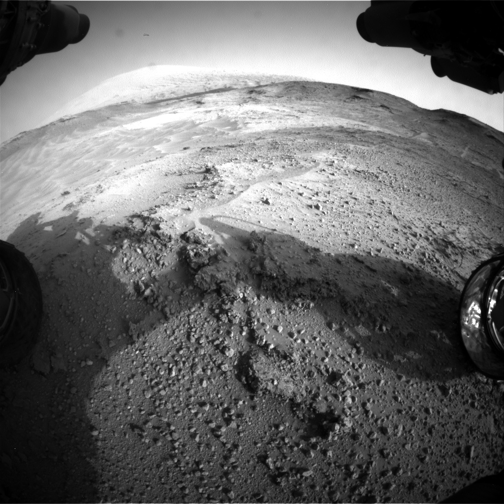 Nasa's Mars rover Curiosity acquired this image using its Front Hazard Avoidance Camera (Front Hazcam) on Sol 751, at drive 852, site number 42