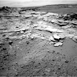 Nasa's Mars rover Curiosity acquired this image using its Left Navigation Camera on Sol 751, at drive 192, site number 42