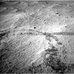 Nasa's Mars rover Curiosity acquired this image using its Left Navigation Camera on Sol 751, at drive 486, site number 42