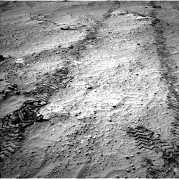 Nasa's Mars rover Curiosity acquired this image using its Left Navigation Camera on Sol 751, at drive 654, site number 42