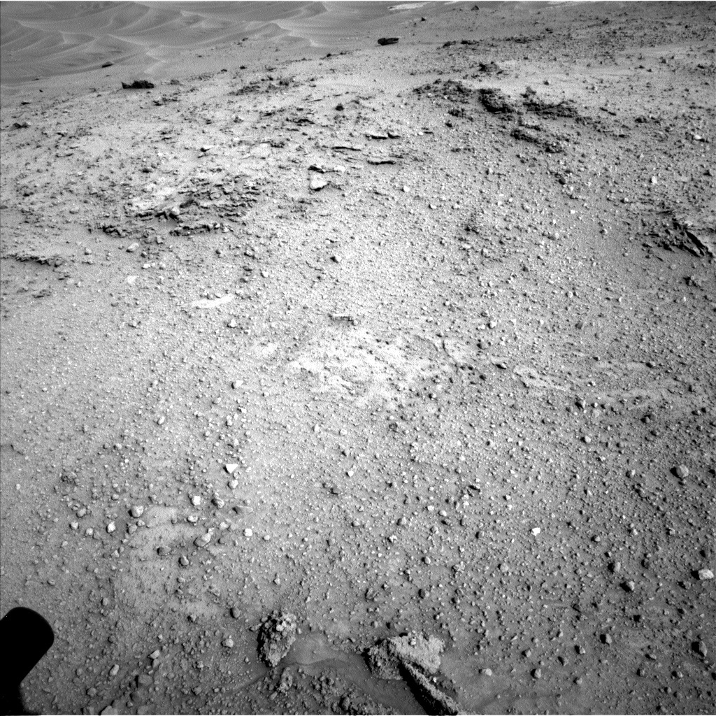 NASA's Mars rover Curiosity acquired this image using its Left Navigation Camera (Navcams) on Sol 751