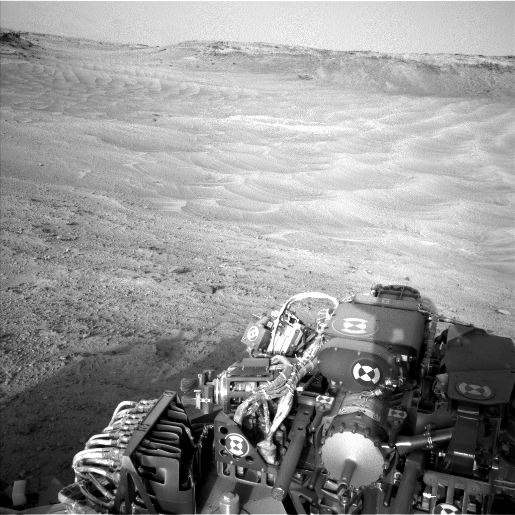Nasa's Mars rover Curiosity acquired this image using its Left Navigation Camera on Sol 751, at drive 852, site number 42