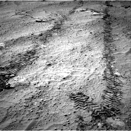 Nasa's Mars rover Curiosity acquired this image using its Right Navigation Camera on Sol 751, at drive 654, site number 42