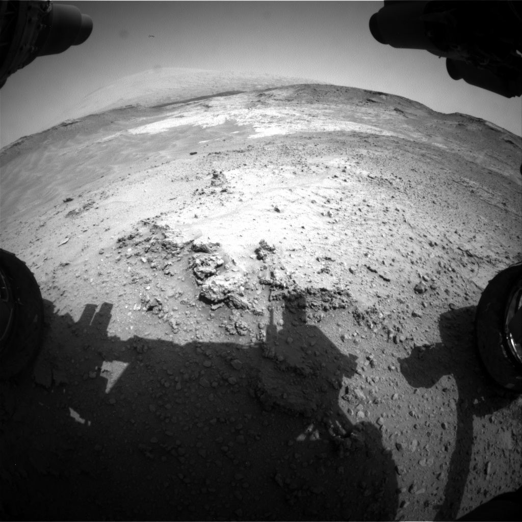 Nasa's Mars rover Curiosity acquired this image using its Front Hazard Avoidance Camera (Front Hazcam) on Sol 752, at drive 852, site number 42