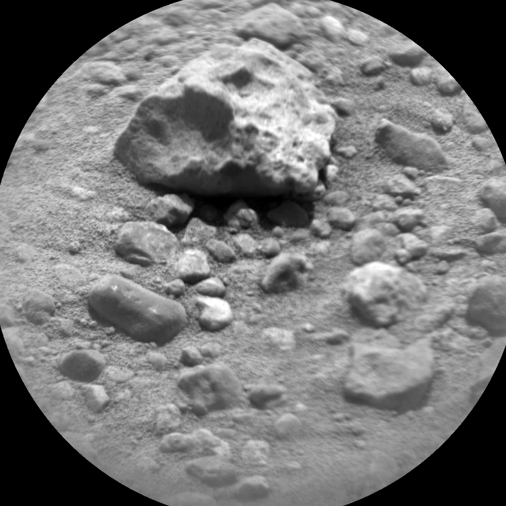 Nasa's Mars rover Curiosity acquired this image using its Chemistry & Camera (ChemCam) on Sol 752, at drive 852, site number 42