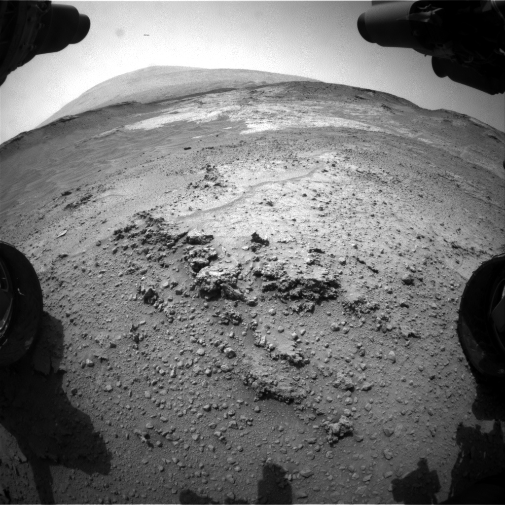 Nasa's Mars rover Curiosity acquired this image using its Front Hazard Avoidance Camera (Front Hazcam) on Sol 753, at drive 852, site number 42